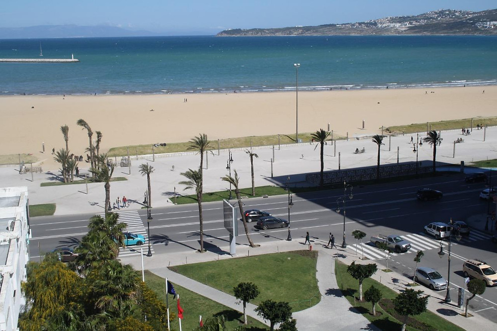 The municipal beach tangier morocco