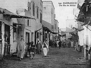 Al-Mallah | The Jewish quarter in Marrakech, Morocco