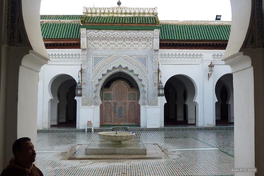 The Karaouiyne mosque fez morocco