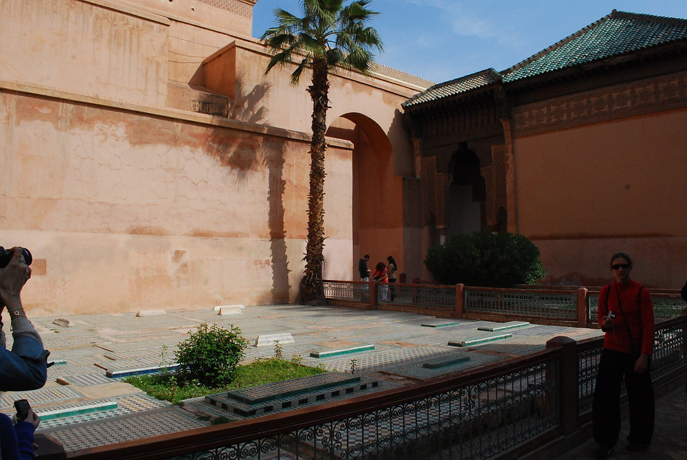 Saadian Dynasty Tombs in Marrakech, Morocco