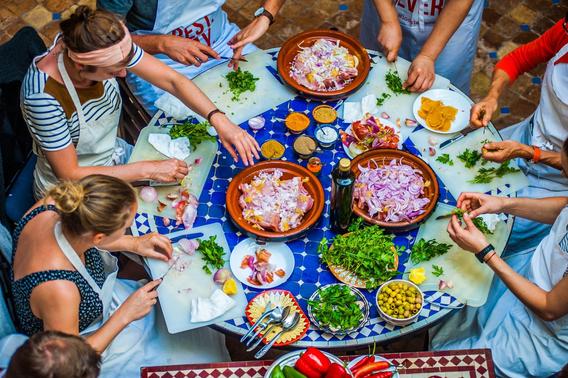 Morocco Spices and cuisine