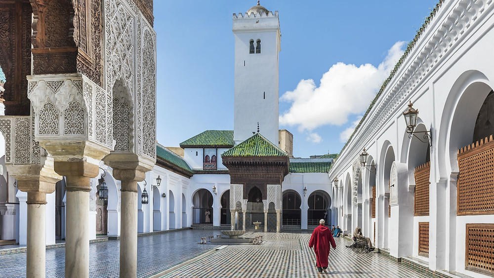 Karaouine mosque fes morocco