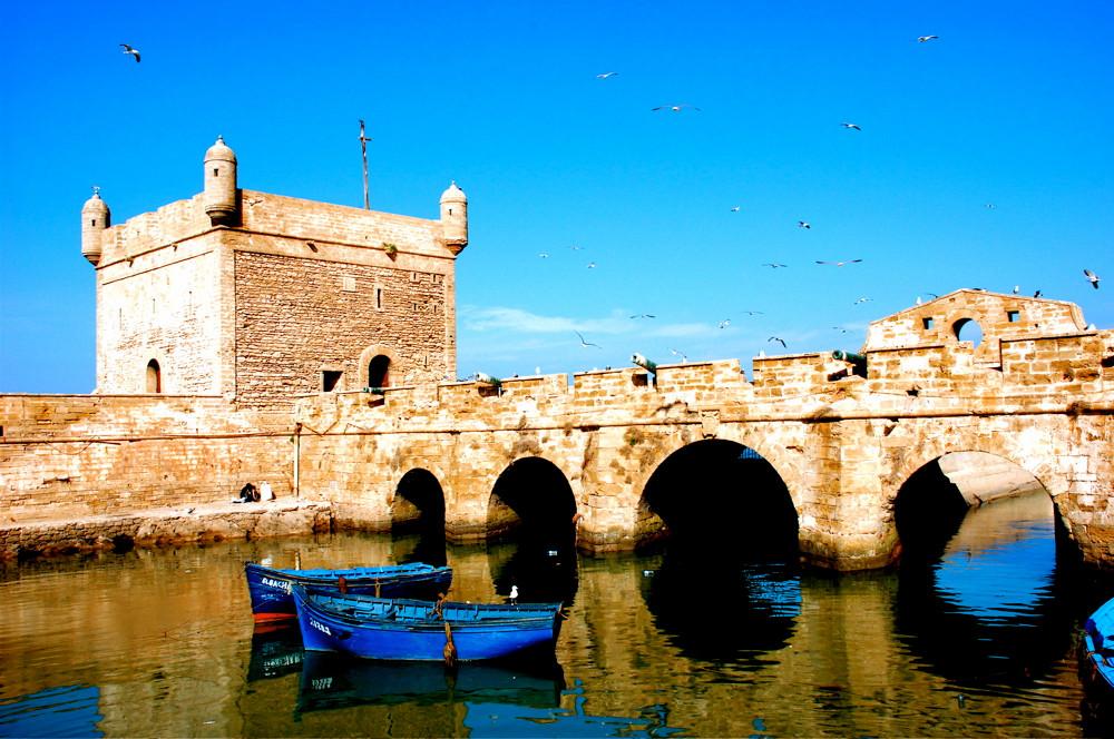 The ramparts of Essaouira