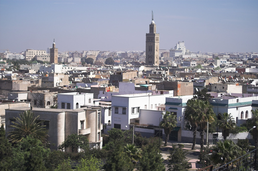 The Habous district  casablanca morocco