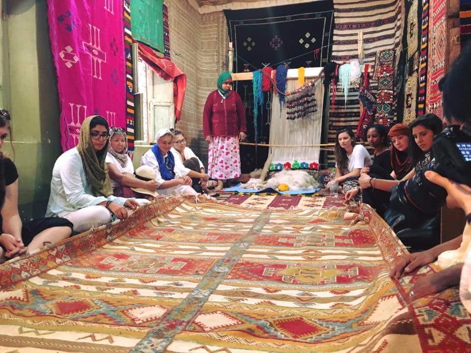 Bhalil village locals