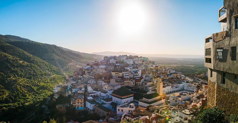 Moulay Idriss Zerhoun, Morocco
