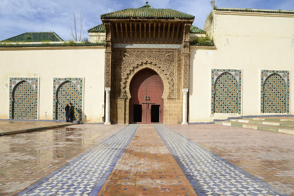 The Mausoleum of Moulay Ismail