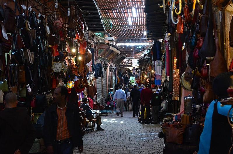 Souk Semmarine Marrakech