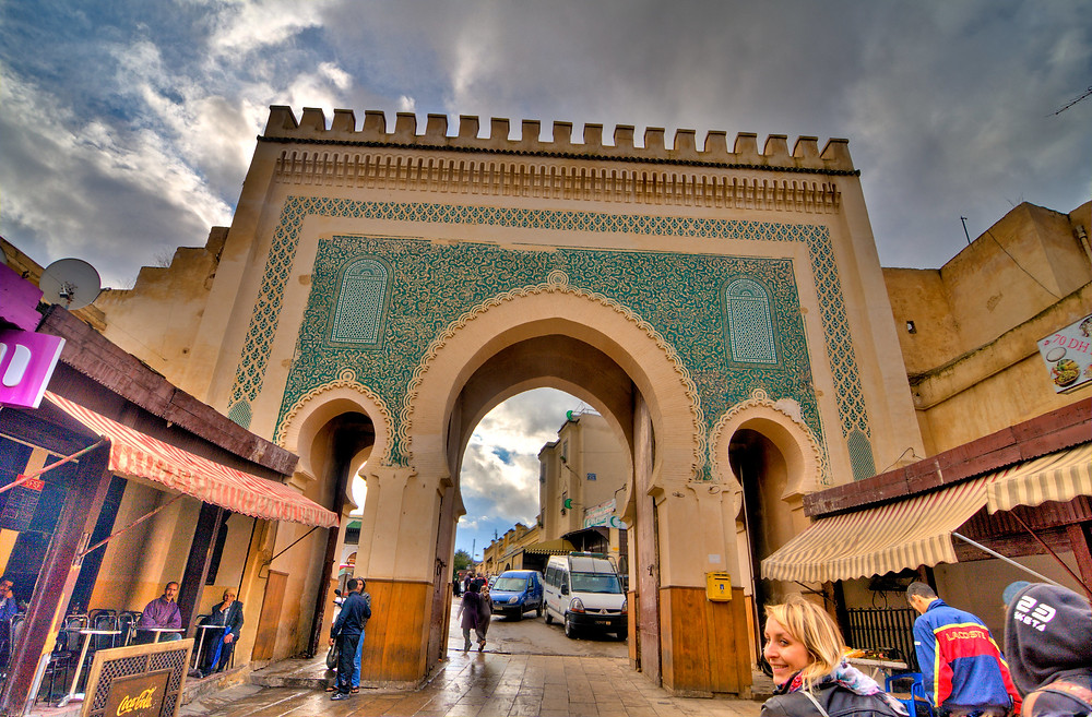 fes morocco Bab Bou Jeloud