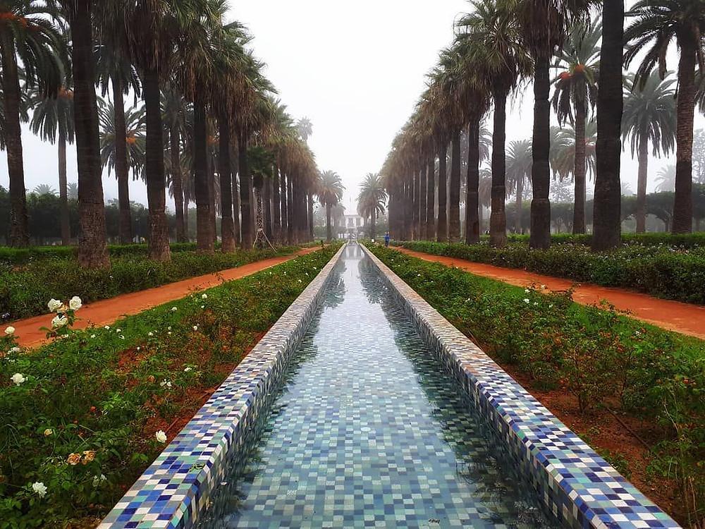 casablanca gardens morocco