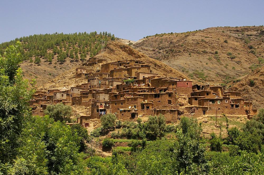 Ourika berbere village morocco