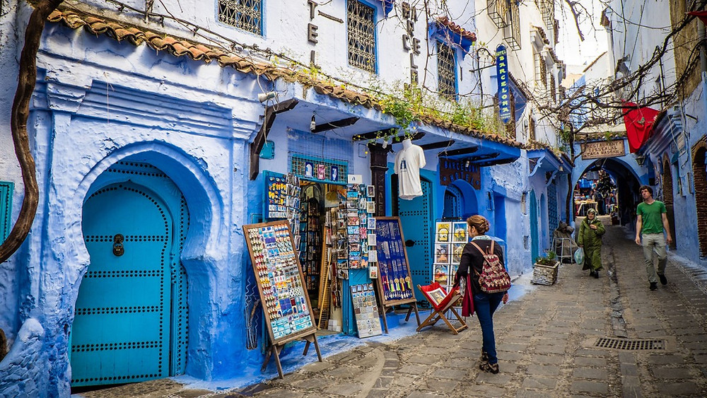 The medina of Tangier morocco