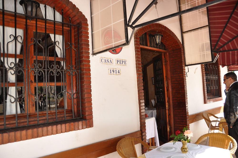 Dining at Restaurante Oceano Casa Pepe asilah