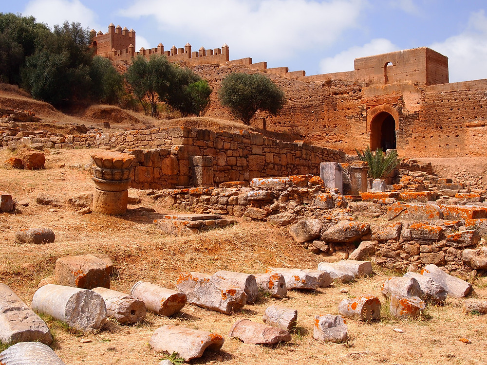 Chellah Necropolis Rabat Morocco