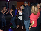 Guests dancing at a 40th birthday party