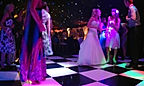 The Bride on the fabulous dance floor