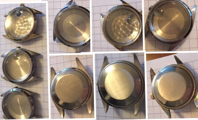 Rolex 1002, 1550 & 1502 NOS Cases