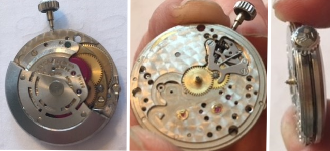 1570 Movement and Crown