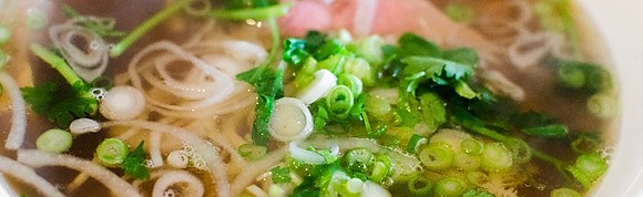 Chicken Broth Pho Noodles
