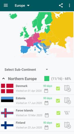 Europe Trip Tracker