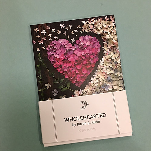 Wholehearted Postcard Packs