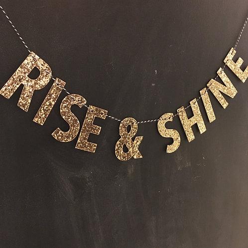 Brigit Banner: Rise & Shine