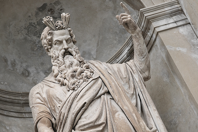 Zeus - Greek god of thunder