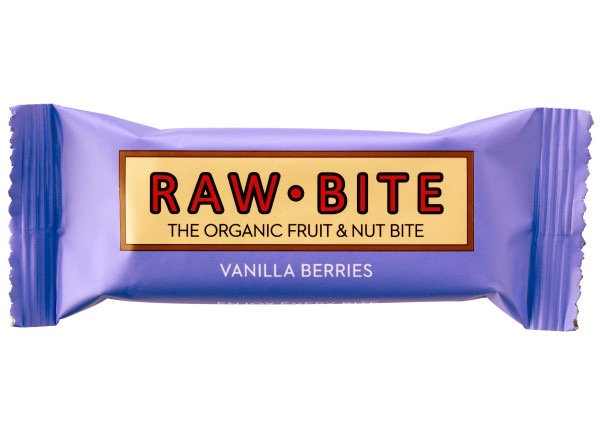 Raw Bite Vanilla Berries Rohkost-Riegel Bio 50 g