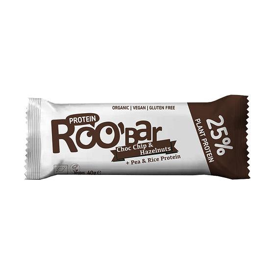 Roobar Proteinriegel Schokolade und Haselnüsse 40 g