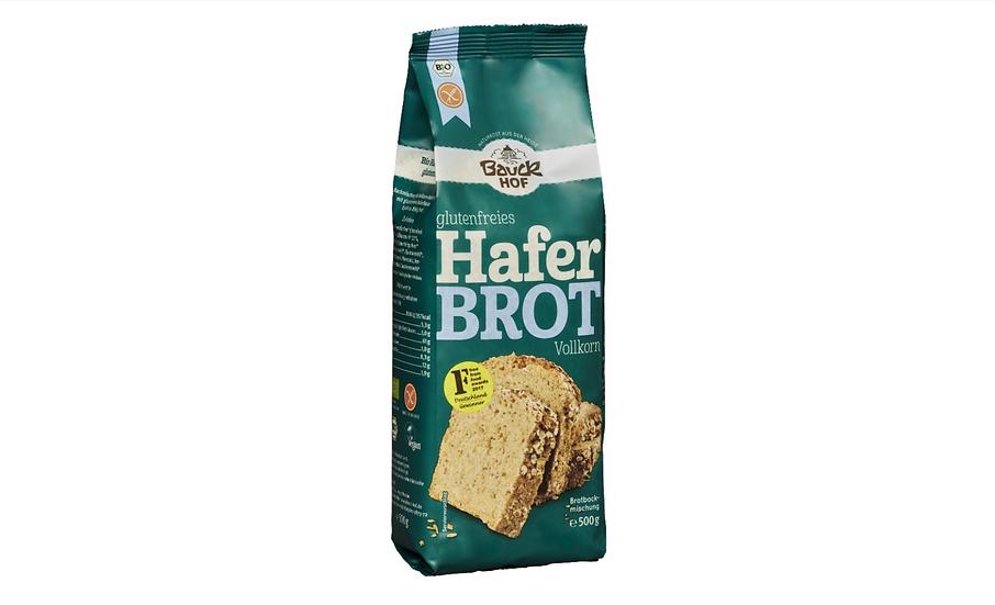 """Bauckhof Bio Brotbackmischung """"'Haferbrot""""', glutenfrei Beutel 500 g"""