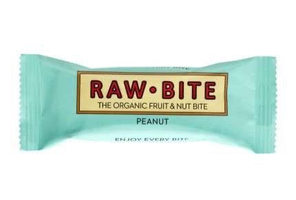 Raw Bite Peanut Rohkost-Riegel Bio 50 g