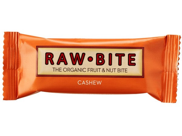 Raw Bite Cashew Rohkost-Riegel Bio 50 g