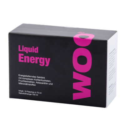 WOO® LIQUID ENERGY 10 Doypacks à 75 ml
