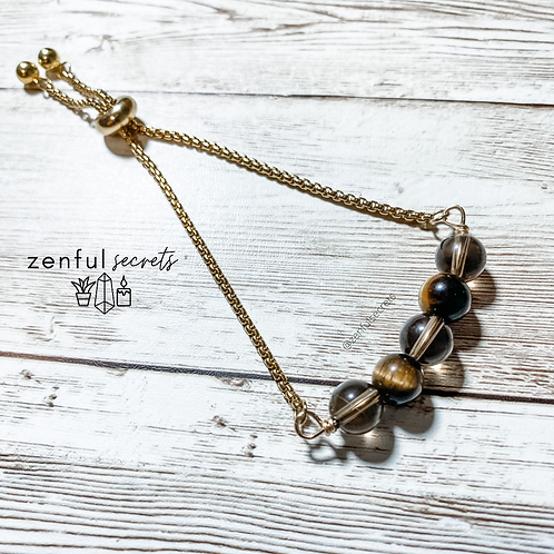 Adjustable Crystal Bracelet