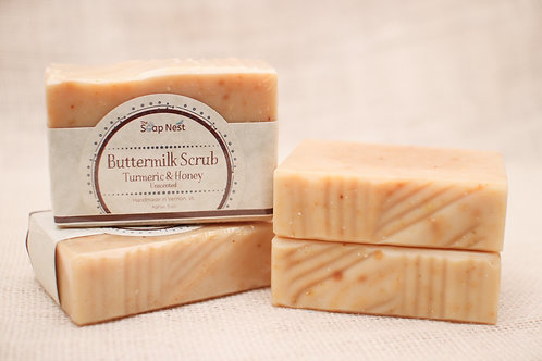 Buttermilk Scrub-Turmeric & Honey