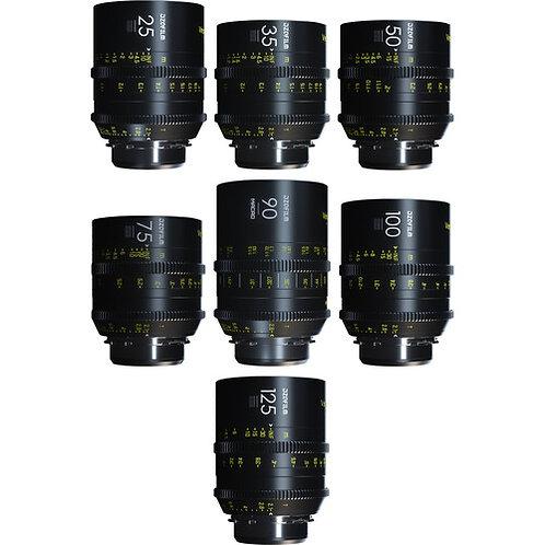 Vespid Kit B (25/35/50/75/100/125mm T2.1 + Macro 90mm T2.8) in hard case