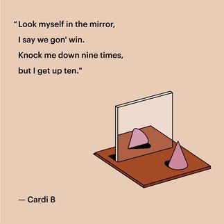 Cardi B quote