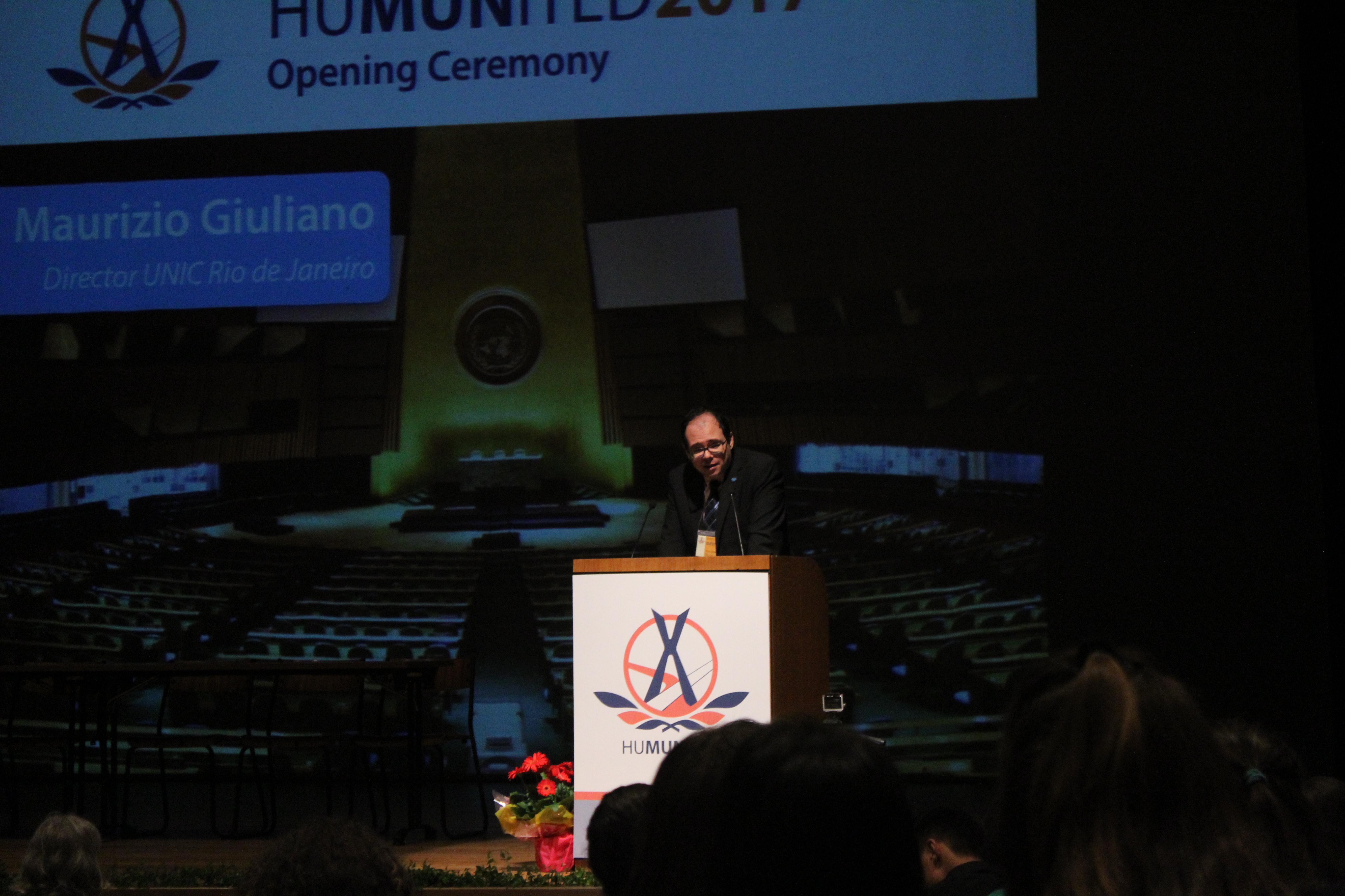 Maurizio Giuliano's Speech