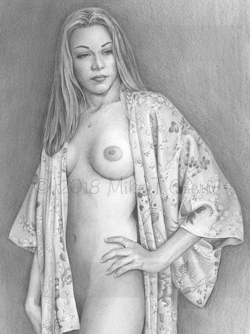 Girl in Robe