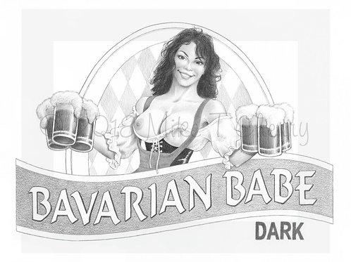 Bavarian Babe Brunette
