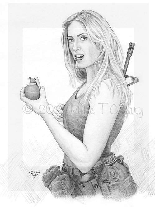 Girl with Grenade