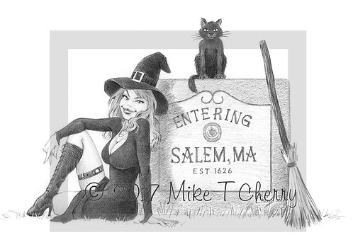 Entering Salem Witch