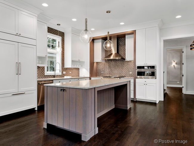 Transitional Kitchen at 401 S. Peck