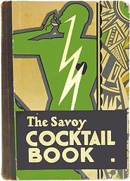 1 The Savoy Cocktail Book, by Harry Crad