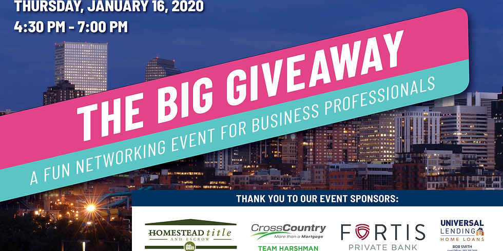 The Big Giveaway! for Business Professionals