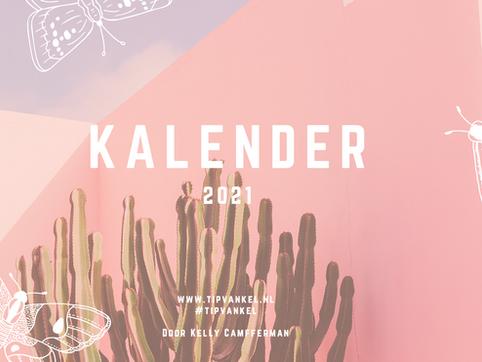 Met deze kalender duurt jouw jaar een maand korter - Gratis download