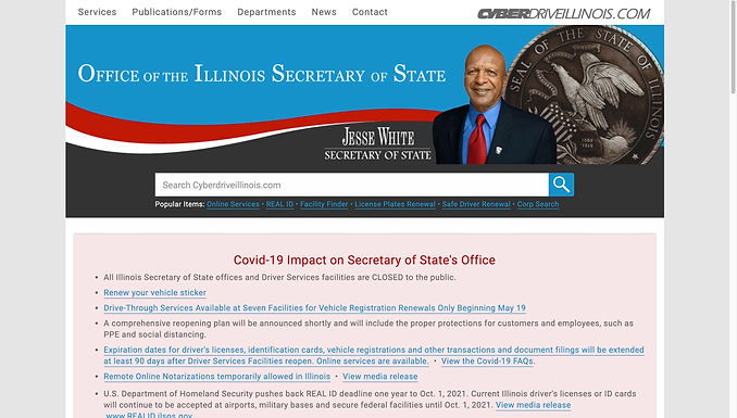 Illinois Driver's License & State Identification Cards
