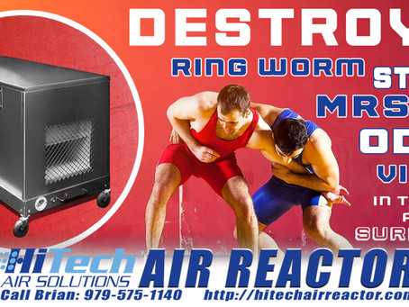 The health of your wrestlers is critical, give them the edge they deserve - The HiTech Air Reactor!