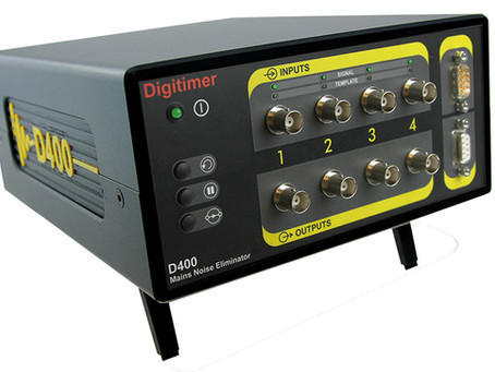 The D400 Multi-channel 50/60Hz Mains Noise Eliminator