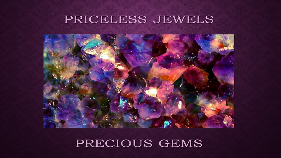 Priceless Jewels/Precious Gems Program